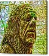 Moss Man - 02 Canvas Print