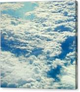 Mostly Cloudy Canvas Print