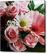 Mostly Pink Canvas Print