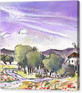 Mota Del Cuervo 04 Canvas Print