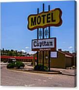 Motel Capitan Canvas Print