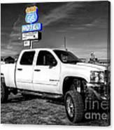 Motel Pickup  Canvas Print