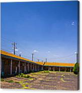 Motel Rooms 2 Canvas Print