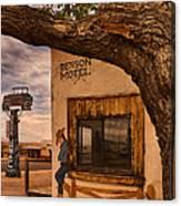 Motel Vacancy Canvas Print