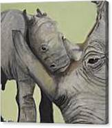 Mother And Baby 1 Canvas Print