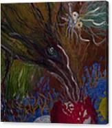 Mother Bird - 1985 Canvas Print