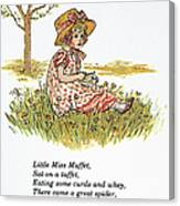 Mother Goose, 1881 Canvas Print