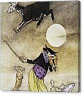 Mother Goose, 1913 Canvas Print