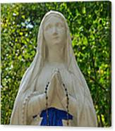 Mother Mary At Mother Cabrini Canvas Print