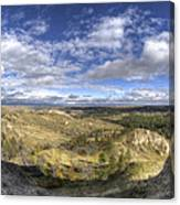 Mother Nature's Hole Canvas Print
