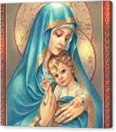 Mother Of God Canvas Print
