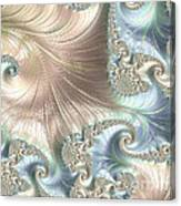 Mother Of Pearl - A Fractal Abstract Canvas Print