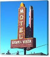 Mother Road Motel Canvas Print