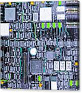 Motherboard Abstract 20130716 P38 Square Canvas Print