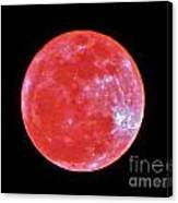 Motherly Moon Canvas Print