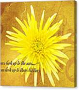 Mother's Day Flower Canvas Print