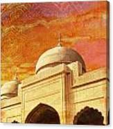 Moti Masjid Canvas Print