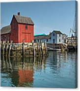 Motif #1 And The Pirate Ship Formidable Canvas Print