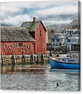 Motif #1 Watches Over The Amie V1 Canvas Print
