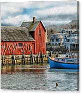 Motif #1 Watches Over The Amie V2 Canvas Print