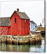 Motif Number 1 Rockport Ma Canvas Print