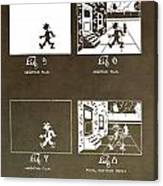 Motion Picture Patent Canvas Print