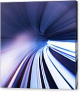 Motion Tunnel Canvas Print