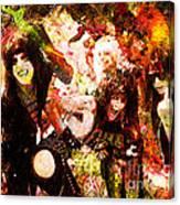Motley Crue Canvas Print