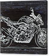 Moto Art 41 Canvas Print