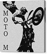 Moto Man Canvas Print