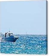 Motorboat Canvas Print