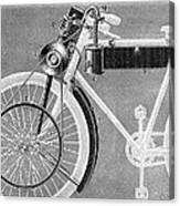 Motorcycle, 1898 Canvas Print