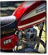 Motorcycle - 1974 Honda Cl 125 Scrambler Canvas Print
