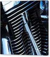 Motorcycle Engine Canvas Print