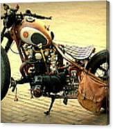 Motorcycle Statement Canvas Print