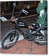 Motorized Bicycle Canvas Print
