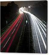 Motorway Canvas Print