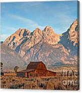 Moulton Barn Canvas Print