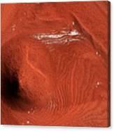 Mound On Mars Canvas Print