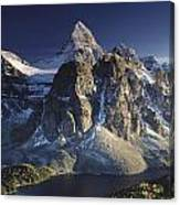 Mount Assiniboine And Sunburst Lake Canvas Print
