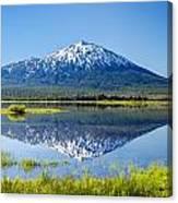 Mount Bachelor Reflection Canvas Print