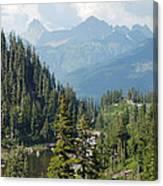 Mount Baker Area Washington Canvas Print