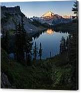 Mount Baker Chain Lakes Awakening Canvas Print