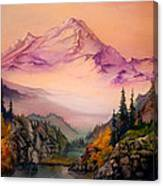 Mount Baker Morning Canvas Print