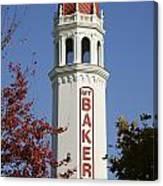 Mount Baker Theater Tower Bellingham Canvas Print