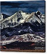 Mount Blanca Canvas Print