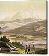 Mount Cayambe, Ecuador, From Le Costume Canvas Print