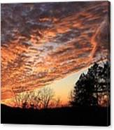 Mount Cheaha Sunset-alabama Canvas Print