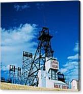 Mount Con Mine 2 Butte Mt Canvas Print