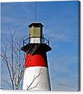 Mount Dora Lighthouse Close Up Canvas Print